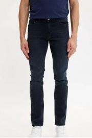Erkek Çivit Mavisi Pedro Slim Fit Jean Pantolon